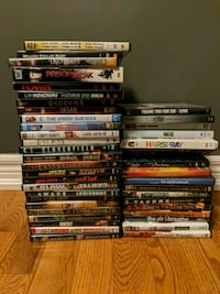 assorted DVD movie lot (50 cents each, $20 OBO)  Vaughan, L4H