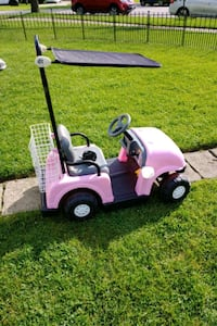 Kiddie electric car / golf cart 6v with charger