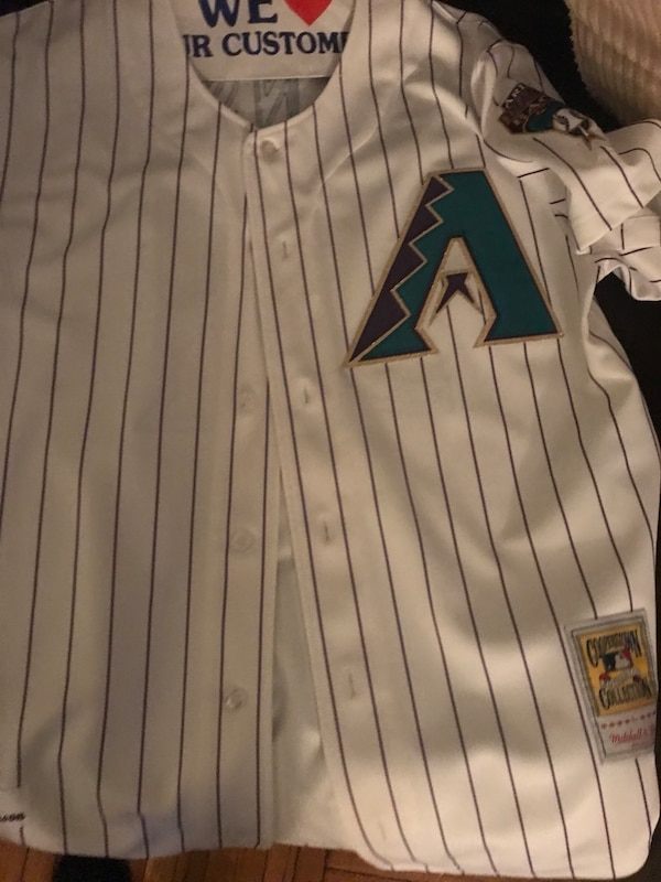 2b881e9e662 Used Randy Johnson Throwback jersey for sale in New York - letgo