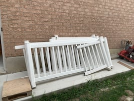 Exterior fence for patio