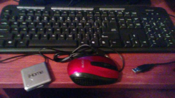 d985a1155b7 Used Keyboard/ Mouse/ USB 4 port Expander for sale in Rowlett - letgo