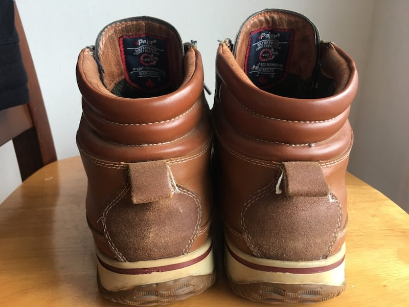 Pajar leather winter boots  3