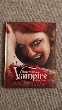 How to be a Vampire by Amy Cray book