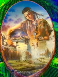 Native Art - Wall decoration picture / Keeper of animals  Alexandria, 22311