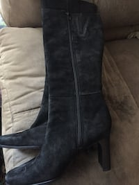 Lord & Taylor suede boots, 6 Lincoln, 02865