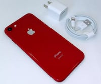 IPhone 8 red null