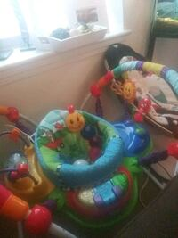baby's blue and green jumperoo Norwich, 06360