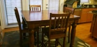 Bar height solid wood dining room table. Adamstown, 21710