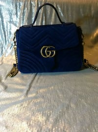 blue Michael Kors leather crossbody bag Washington, 20011