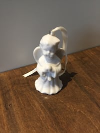 Ceramic Christmas Angel ornament