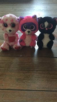 Three Beanie Boos Shelton, 06484