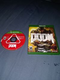 Xbox One Doom disc with case Seattle, 98125