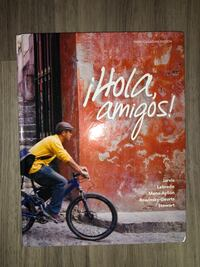 Mcmaster first year Spanish 1A03 textbook Ihola Amigos 汉米尔顿, L8P