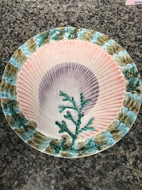 "Round shell platter decor Made in Italy 14 ½"" West Palm Beach, 33417"