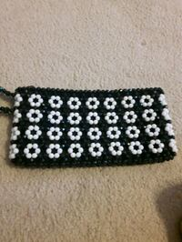 black and white polka dot wallet Toronto, M9P 2T2