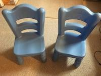 Two Toddler Girls Chairs