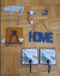 Crochets a usages multiples | Misc. wall hooks Brossard