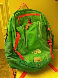 green and red The North Face backpack West Valley City, 84119