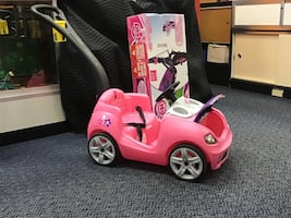 New Pink Step2 Push Car Toy w/ Handle