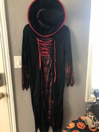women's black and red long sleeve dress San Diego, 92113