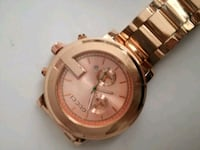 round gold chronograph watch with link bracelet Hertfordshire, WD6 4HN