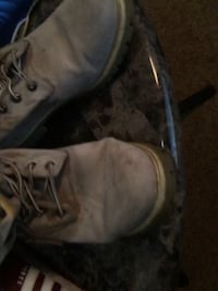 7 pair of athletic shoes and Timberlands.Size 11-1/2 and 12 167 mi
