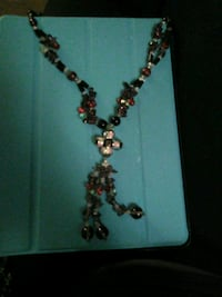 silver and brown beaded necklace Amarillo, 79106