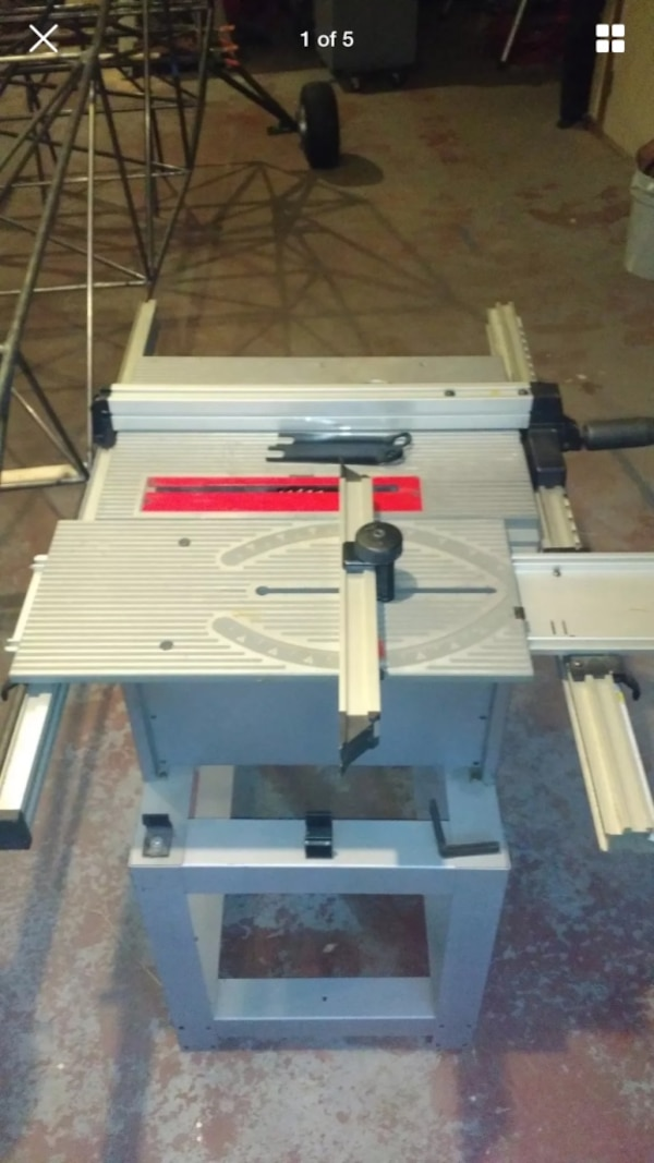 Ryobi Bt3000 Table Saw And Router Attachment