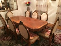 Beautiful Cherry Dining Table Set Chantilly