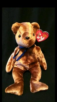 Mint Ty Beanie Babies 2002 Ted-e Old Face Bear 100th Year Anniversary