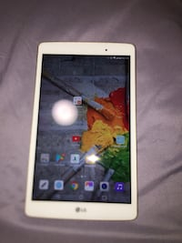 LG tablet with USB port
