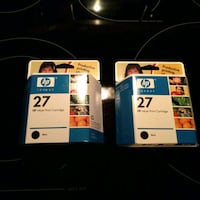 HP 27 black ink cartridges - Qty. 2 Virginia Beach, 23451