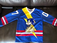 Sonic the hedgehog jersey youth size 7/8 Burnaby, V3N 2M9