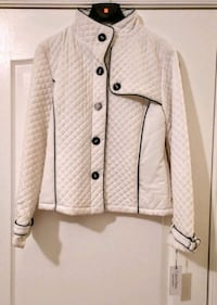 Calvin Klein Quilted Jacket white XL - see description Lancaster