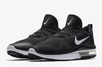 Pair of black-and-white nike running shoes Powell, 37849