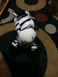white and black plush toy Hammond, 46327