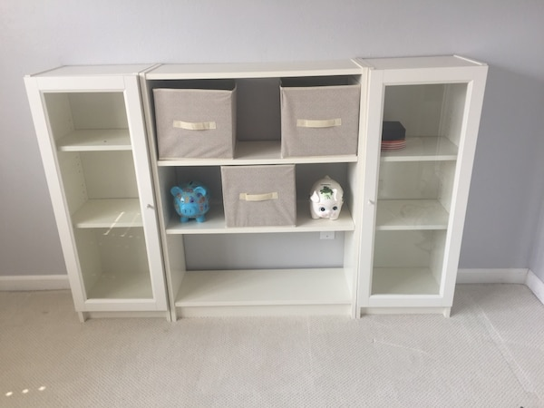 the latest cfa19 7d21a IKEA Billy Bookcase with Glass Doors