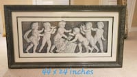 Italian classical angle print with gorgeous frame Oakville, L6M 4S2