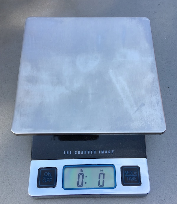 Latest Sharper Image Digital Food Scale