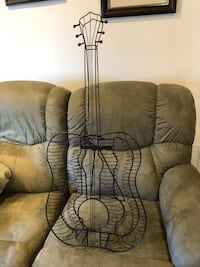 Metal guitar CD holder Brunswick, 21716