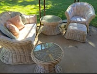 Dreamy white wicker set ***Reduced*** , L3B 5N4