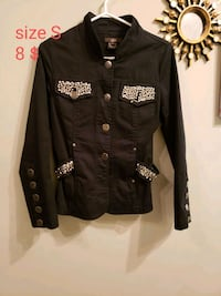black and brown button up jacket Calgary, T3G 4A9