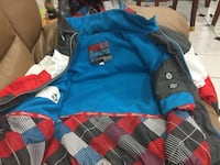 Boys monster spring jacket size 12 like new