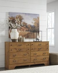 Bittersweet Light Brown Dresser | B219 Houston, 77019