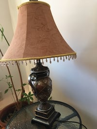 brown and white table lamp New York, 10019