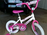 toddler's white and pink bicycle Rochester, 55902
