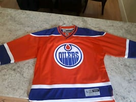 Brand new Official Oilers Jersey never worn