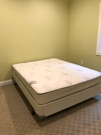 white and gray bed mattress Fairfax, 22031