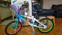 toddler's white and blue bicycle Mississauga, L5C 1H5