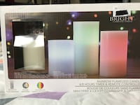 Brand new set of flameless candles Brampton, L6V 4X6